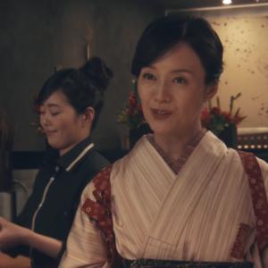 木曜ドラマ「ケイジとケンジ」宮沢かほり役(奥貫薫)、大野純役(ぎぃ子)