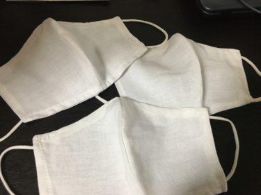 布でマスクを作りました!ど素人でも簡単に作れる立体型布マスク