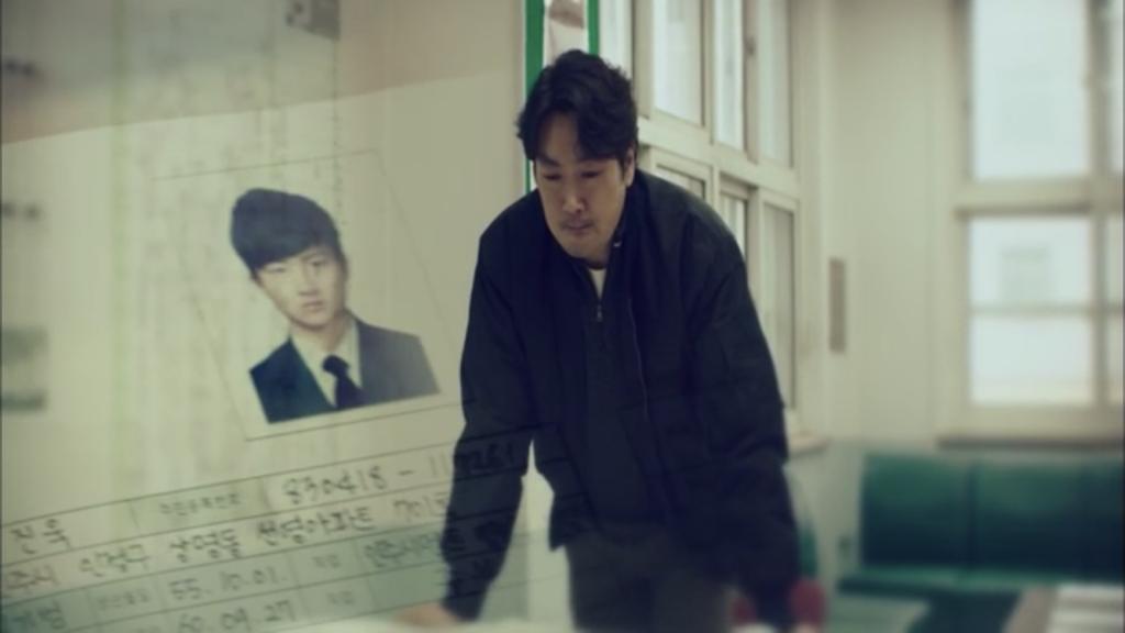 韓国ドラマ「シグナル」12話、インジュ事件を捜査するイ・ジェハン(チョ・ジヌン