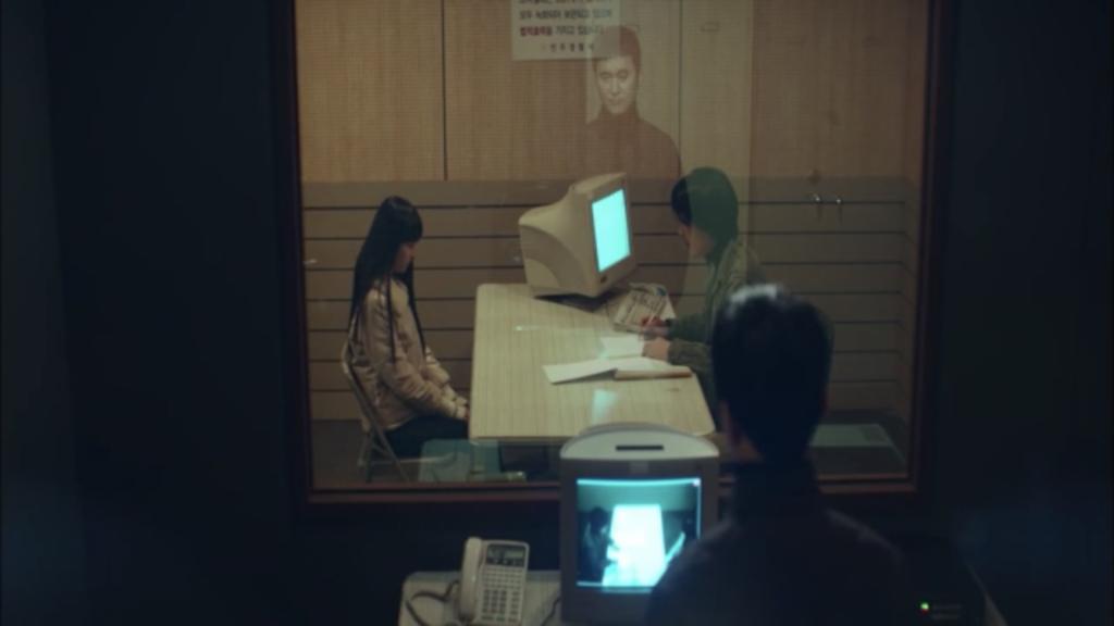 韓国ドラマ「シグナル」12話、ソヌが犯人だと証言をするカン・ヘスン
