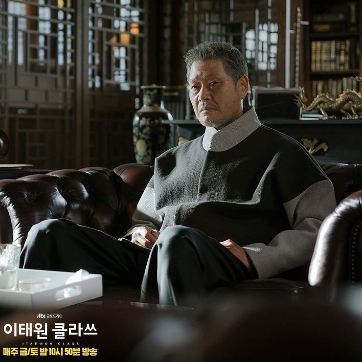 「梨泰院クラス」長家の会長チャン・デヒ(ユ・ジェミョン)